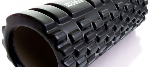 A trigger point foam roller