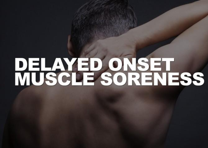 A common side effect of weight training is DOMS or delayed onset muscle soreness